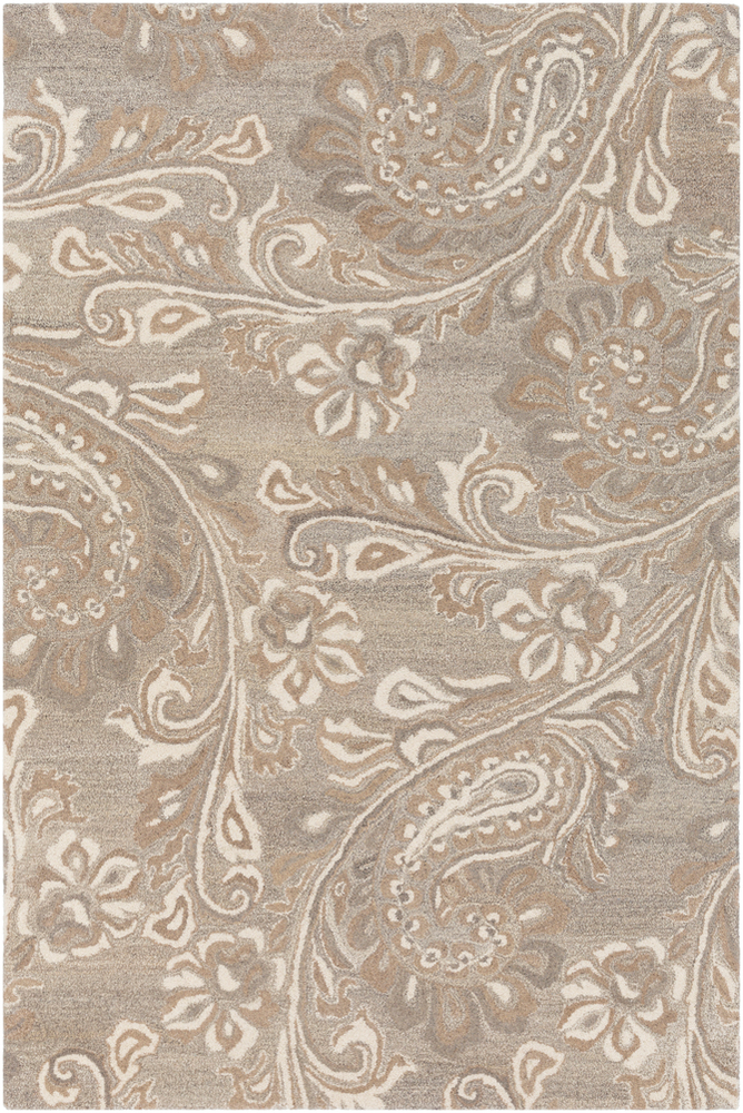 Surya Asheville Ail 1007 Neutral Area Rug Fovama Rugs