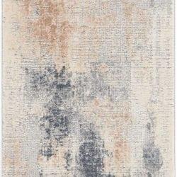 Nourison Rustic Textures Beige Grey Area Rug Rus02
